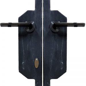 門扉用取っ手錠付き