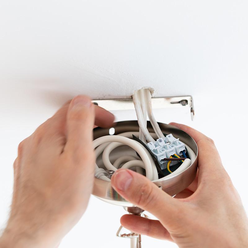 輸入照明,取付配線図,設置,接続,施工